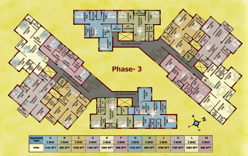 Shantiniketan-Phase-3-floor-plan