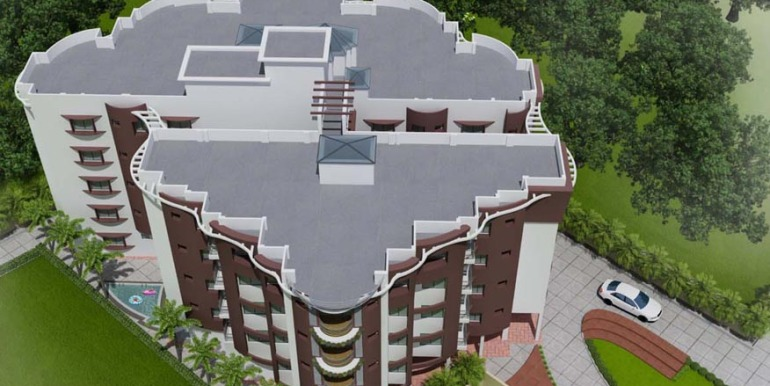 Shantiniketan phase 2 birds eye view