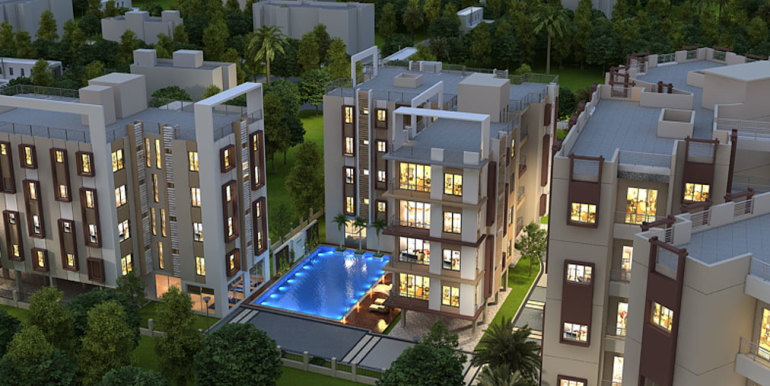 aerial-night-view-shantiniketan-apartments