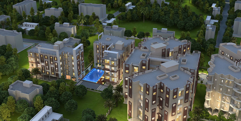 aerial-night-view-shantiniketan-apartments1