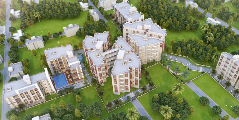 aerial-view-shantiniketan-apartments