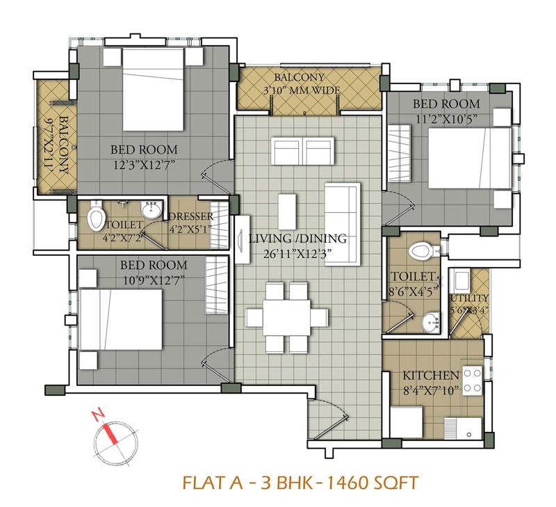 Flat-type-A