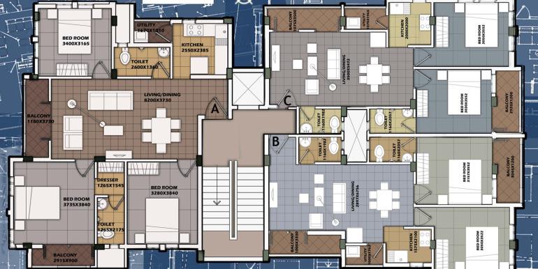 Surya Kiran floor plan