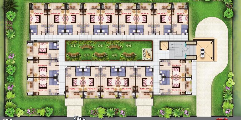 Sagar Vatika floor plan